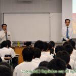 高校1年生「進学講演会」 9月25日(月)