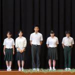 2学期始業式 9月1日(金)