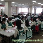 中学一年生家庭科調理実習 11月14日(火)