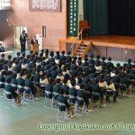 中学卒業式 3月24日(土)