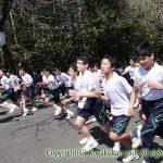 中学校内マラソン大会 3月17日(土)