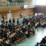 中学卒業式 3月23日(土)