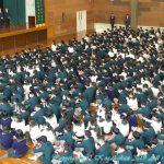 平成31年度 1学期新任式・始業式・対面式 4月6日(土)