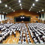 表彰式・2学期始業式 9月2日(月)