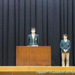 高校生徒会長立会演説会・投票 1月27日(月)