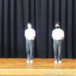 表彰式・1学期終業式 8月1日(土)