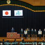 表彰式・2学期終業式 12月24日(木)