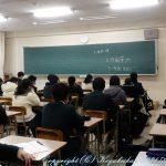 中学生徒会長立会演説会・投票 1月18日(月)