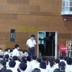 佐賀市中学校総合体育大会壮行会 6月29日(火)
